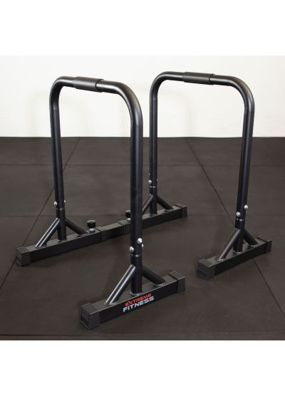 Extreme Fitness Adjustable Width Parallette Dip Bars