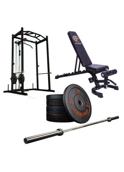 Extreme Fitness Home Gym Start Up Package