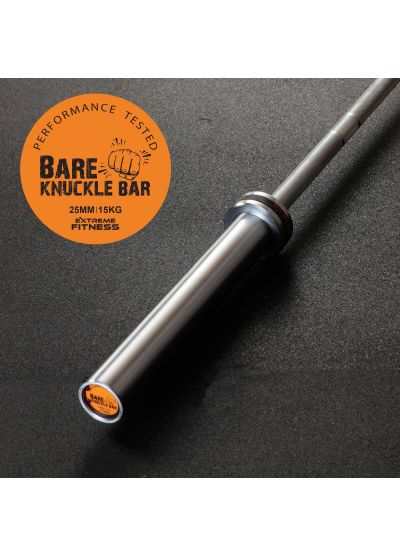 The Bareknuckle Women's 15kg Bar