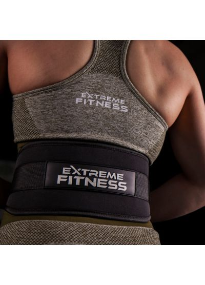 Extreme Fitness Black Neoprene Lifting Belt