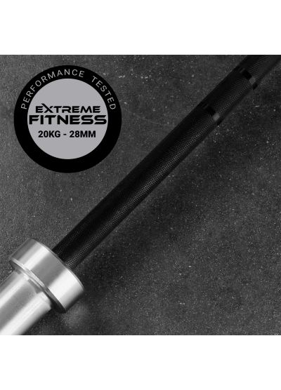 The Extreme Fitness Olympic Training Barbell 20kg