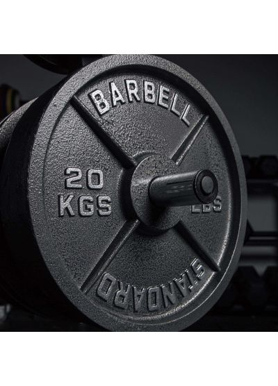 """Cast Iron 2"""" Olympic Weight Plates"""