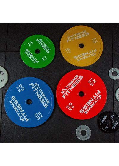 Extreme Fitness Calibrated Steel Powerlifting Plates