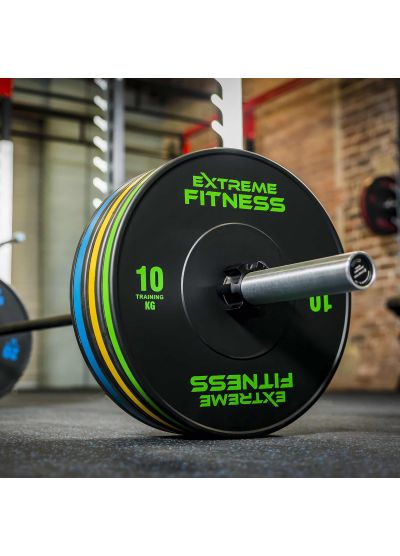 Extreme Fitness HG Elite Bumper Plates