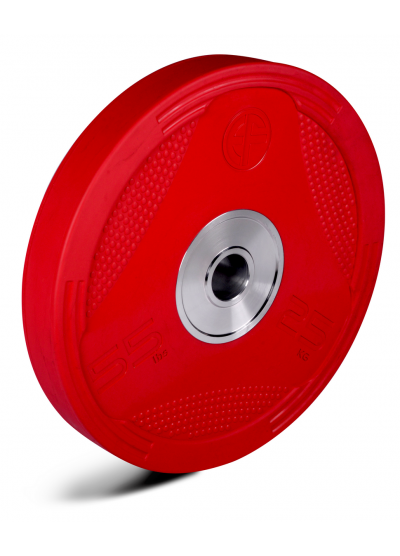 Competition Bumper Plate 25kg Red Pair
