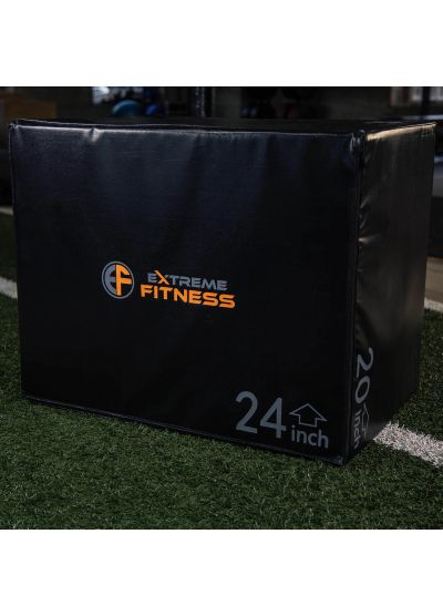 "Extreme Fitness 3 in 1 Soft Plyo Box 30"" x 24"" x 20"""
