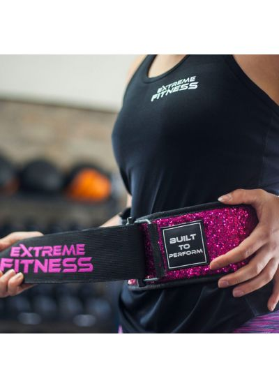 Extreme Fitness Weightlifting Sparkle Belts