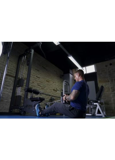 Extreme Fitness Commercial Lat Pulldown / Low Row Machine