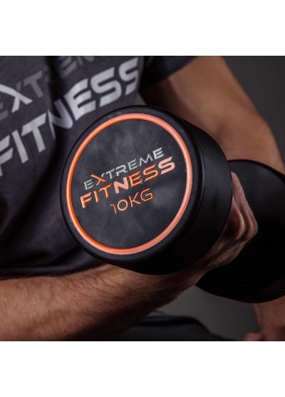 Extreme Fitness PU Round Dumbbells