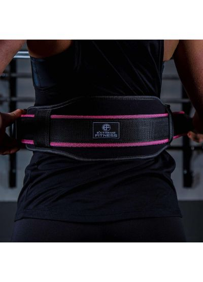 Extreme Fitness Pink Neoprene Lifting Belt