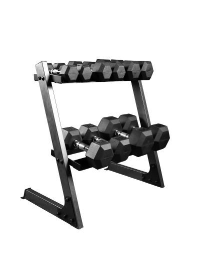 Extreme Fitness Dumbbell + Rack Package 1