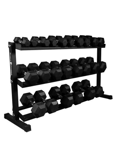 Extreme Fitness Hex Dumbbell 2.5-30Kg Sets