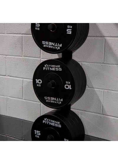Extreme Fitness Bumper Plate Wall Mount