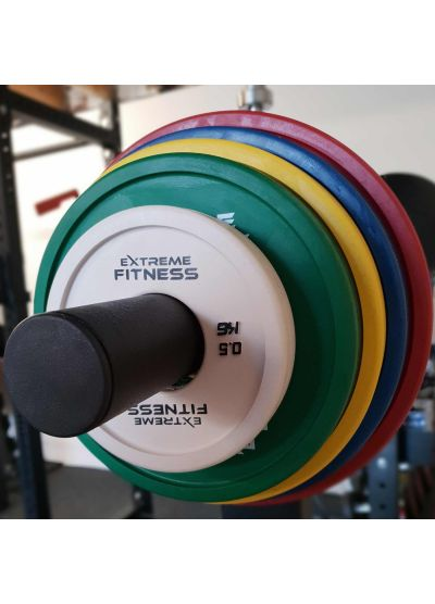 Extreme Fitness Rubber Colour Change Plates (PRE-ORDER)
