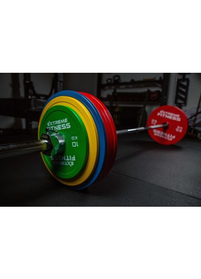 Extreme Fitness Powerlifting Weight and Bar Package