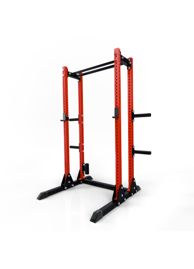 Extreme Fitness Red Slim Power Rack