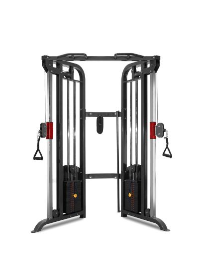 Extreme Fitness Dual Adjustable Cable Pulley Functional Trainer