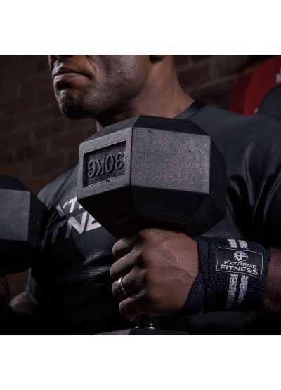 Extreme Fitness Hex Rubber Dumbbells