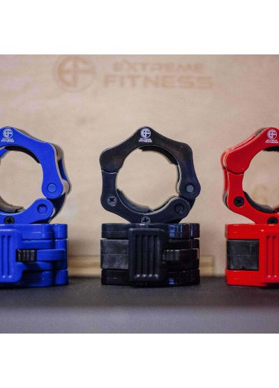 """Extreme Fitness Quick Release Plastic Jaw Lock Collars 2"""""""