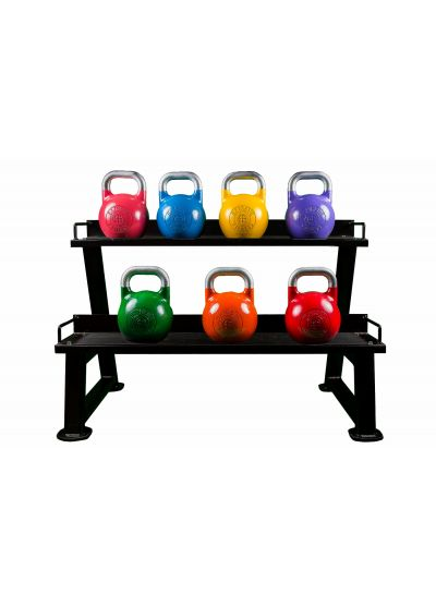 Extreme Fitness Competition Kettlebell And Rack Package