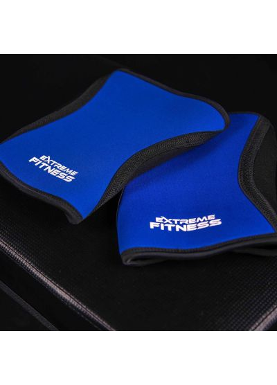 Extreme Fitness Neoprene Knee Sleeves 5mm Blue