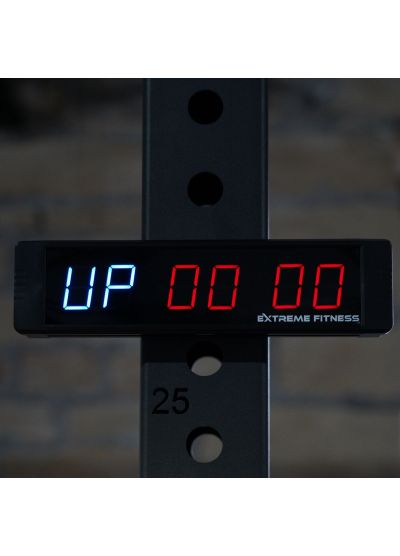 Extreme Fitness Mini LED Interval Count UP/Down Timer