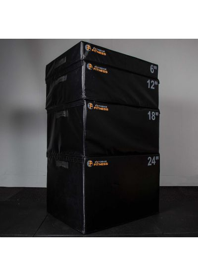 Extreme Fitness Multi Soft Foam Plyo Box 4 Set