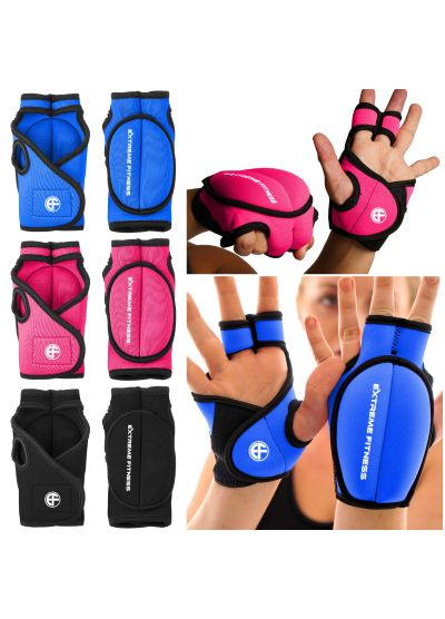Extreme Fitness Weighted Wrist Gloves