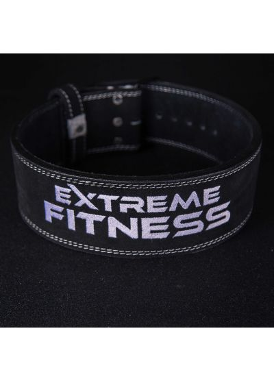 Extreme Fitness Black Lifting Belt 10mm