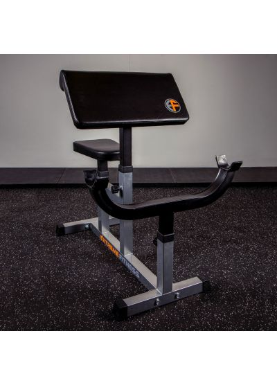 Extreme Fitness Preacher Curl Bench