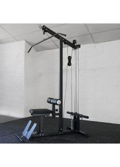 Extreme Fitness Plate Loaded Lat Pulldown/Low Row Machine