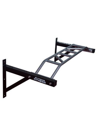 Extreme Fitness Wall Mount Multi Grip Pull Up Bar