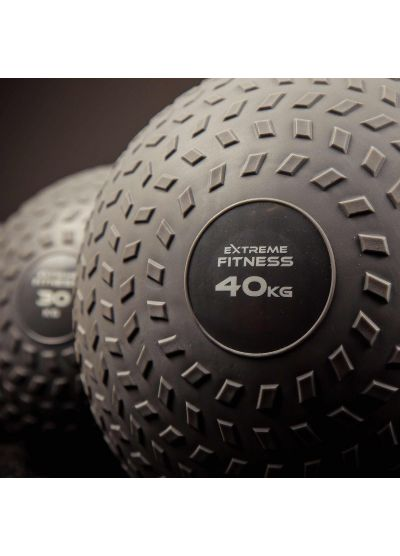 Extreme Fitness Grey Tyre Grip Slam Balls