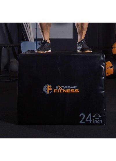 "Extreme Fitness 3 in 1 HEAVY Soft Plyo Box 30"" x 24"" x 20"""