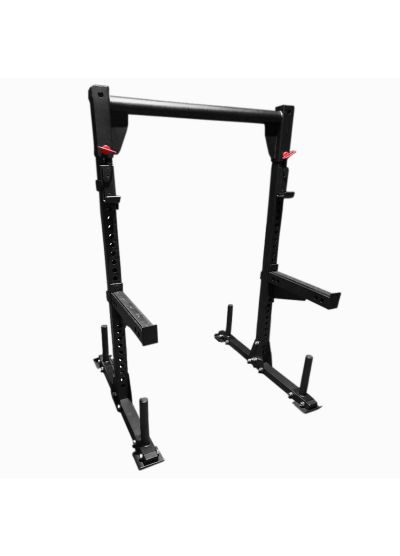 Extreme Fitness Yoke Squat Rack with Spotter Arms